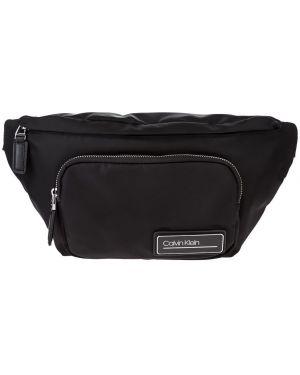 Поясная сумка текстильная черная Calvin Klein Jeans