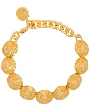 Золотой браслет металлический Versace