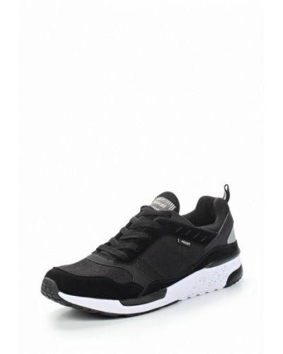 Черные кроссовки замшевые Ascot
