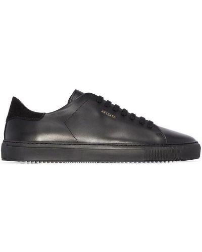 Czarne sneakersy skorzane Axel Arigato