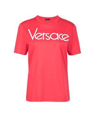 Футболка красный Versace