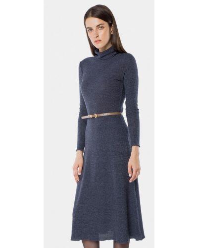 Вязаное платье осеннее трикотажное Mr520
