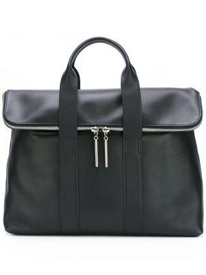 Skórzana torebka czarna 3.1 Phillip Lim