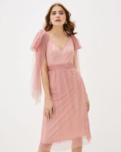 Розовое вечернее платье Little Mistress