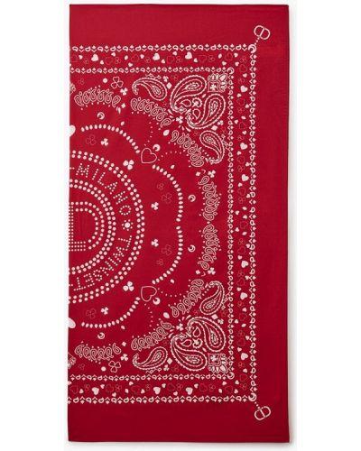 Красный платок осенний Twinset Milano