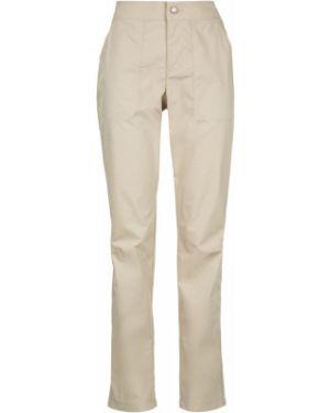 Спортивные кожаные бежевые брюки Columbia