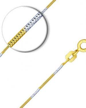 Цепочка из золота из серебра позолоченная Sokolov