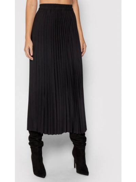 Spódnica plisowana - czarna Selected Femme