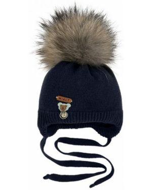 Зимняя шапка с помпоном из вискозы Mialt