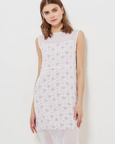 Белое платье весеннее Calvin Klein Jeans