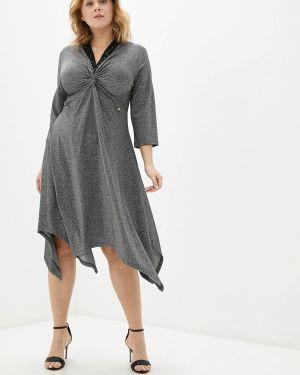 Вечернее платье осеннее серебряный Kitana By Rinascimento