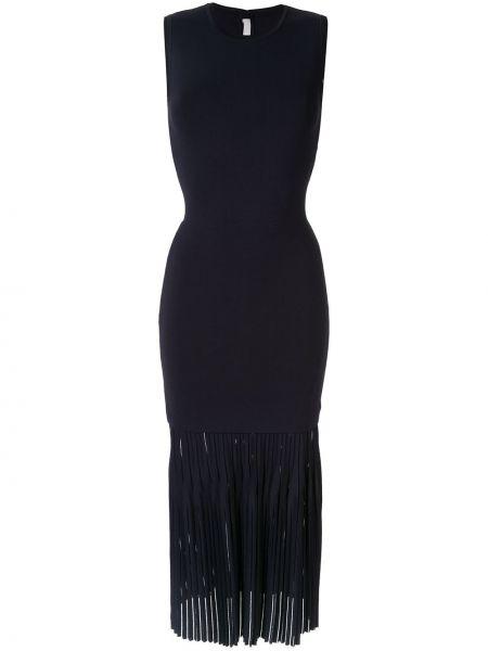 Платье миди плиссированное на молнии Dion Lee