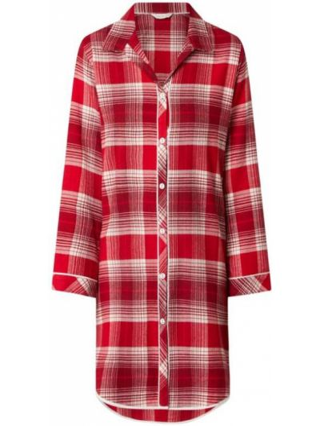 Bawełna bawełna koszula nocna z długimi rękawami z siatką Cyberjammies