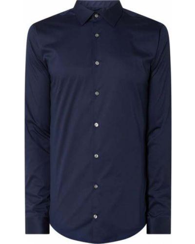 Niebieska koszula bawełniana z długimi rękawami Tiger Of Sweden