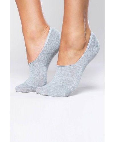 Серые хлопковые носки Italian Fashion