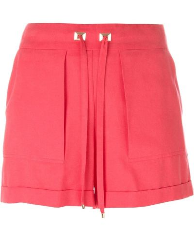 Розовые шорты Blumarine