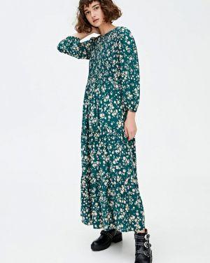 Платье индийский прямое Pull&bear