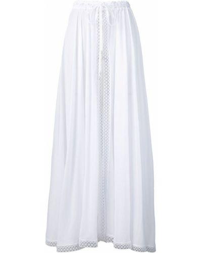 Ажурная юбка макси с оборками Charo Ruiz