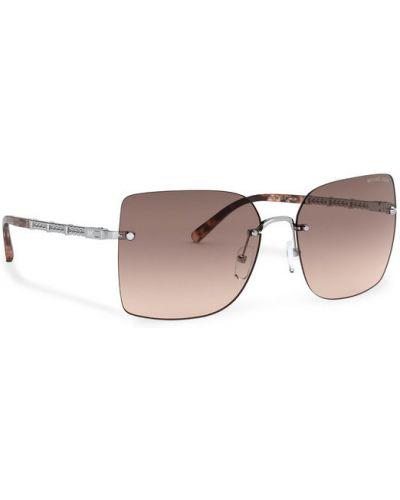 Brązowe okulary Michael Kors