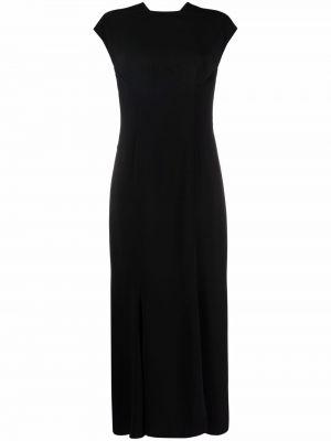 Шелковое платье - черное Versace