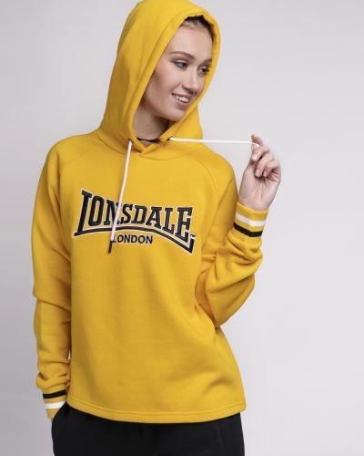Желтое худи Lonsdale