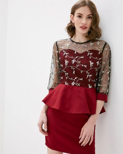 Красное вечернее платье Pink Summer
