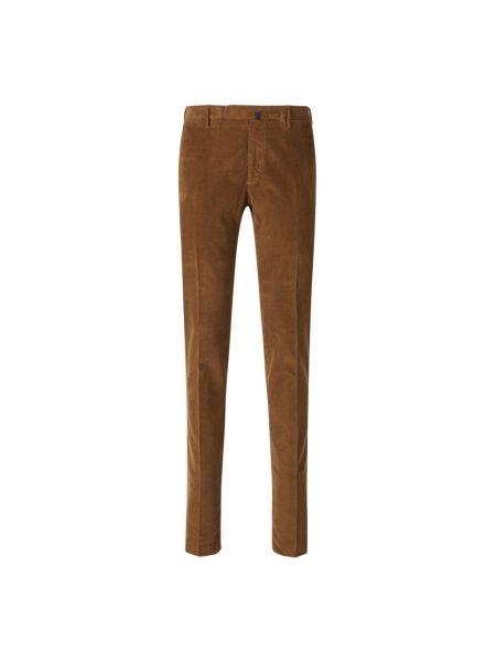 Brązowe spodnie Incotex