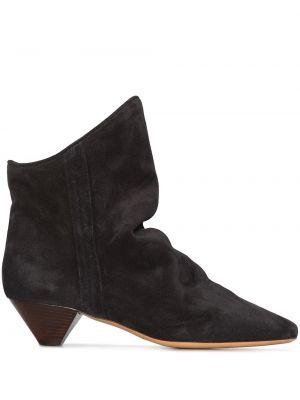 Черные кожаные трусы Isabel Marant
