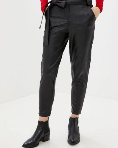 Черные кожаные брюки You&you