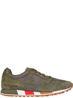 Текстильные кроссовки - зеленые Le Coq Sportif