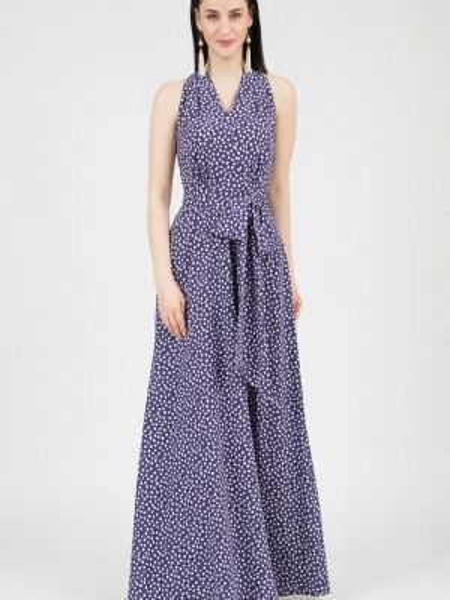 Фиолетовое повседневное платье Grey Cat