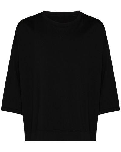 Czarna t-shirt krótki rękaw Visvim