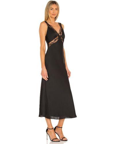 Sukienka koronkowa - czarna Majorelle