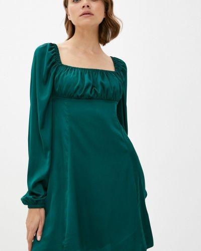 Прямое платье - зеленое Imocean