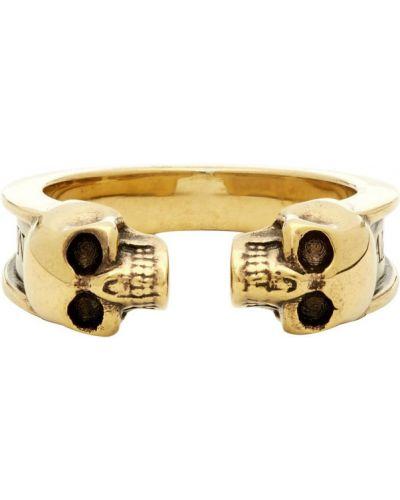 Pierścień ze złota Alexander Mcqueen