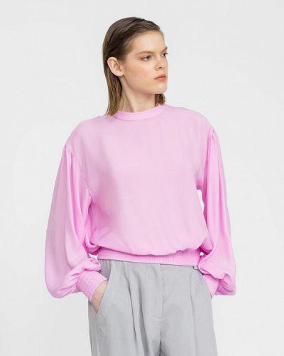 Розовая блузка с длинным рукавом с длинными рукавами Lo
