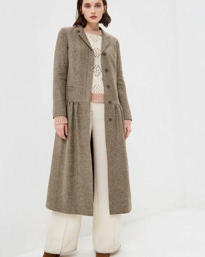 Пальто демисезонное серое Gamelia
