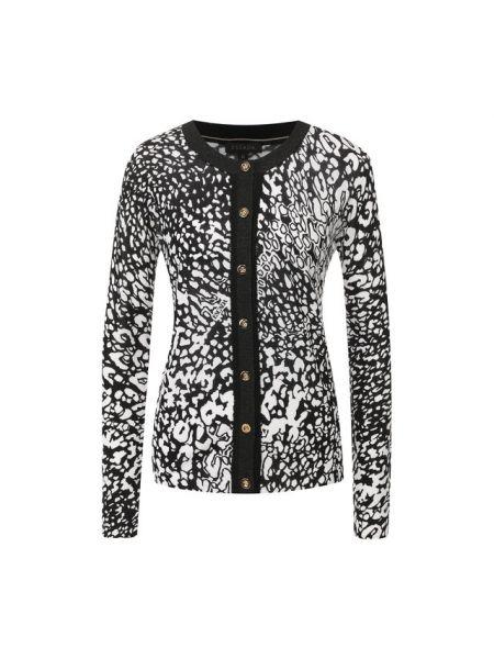 Кардиган черный леопардовый Escada