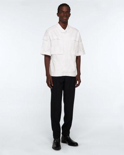 Biała koszula bawełniana Givenchy