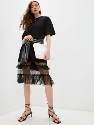 Черное платье Ice Play