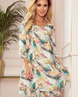 Sukienka z szyfonu oversize Numoco