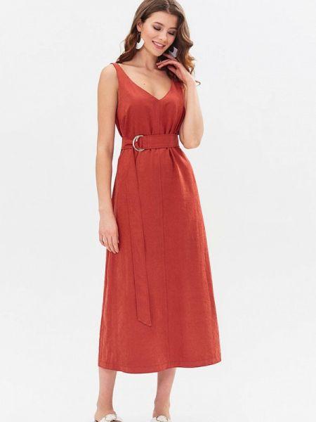 Платье - красное Moru