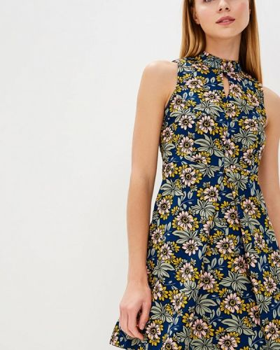 Платье синее Qed London