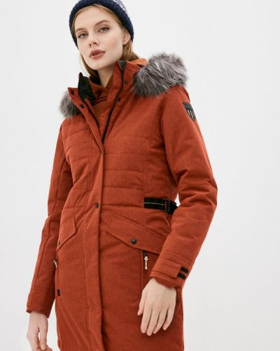 Оранжевая утепленная куртка Torstai