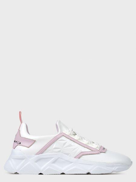 Кожаные кроссовки - белые Frankie Morello