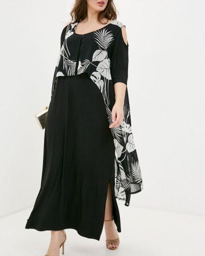 Повседневное черное платье Sophia