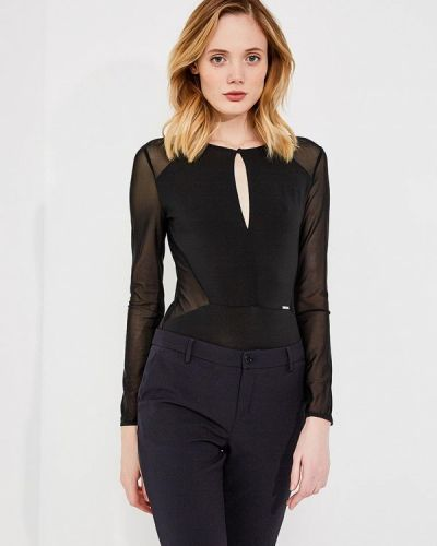 Черная блузка боди Liu Jo