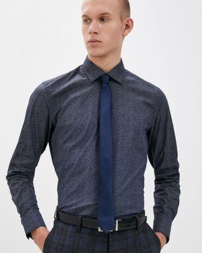 Синяя рубашка Bawer