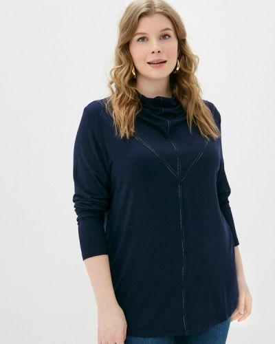 Синяя с рукавами блузка Svesta