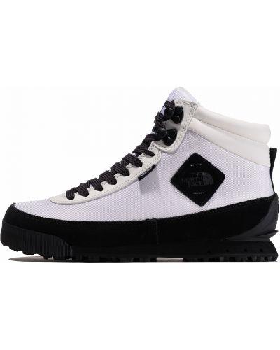 Городские замшевые белые ботинки The North Face